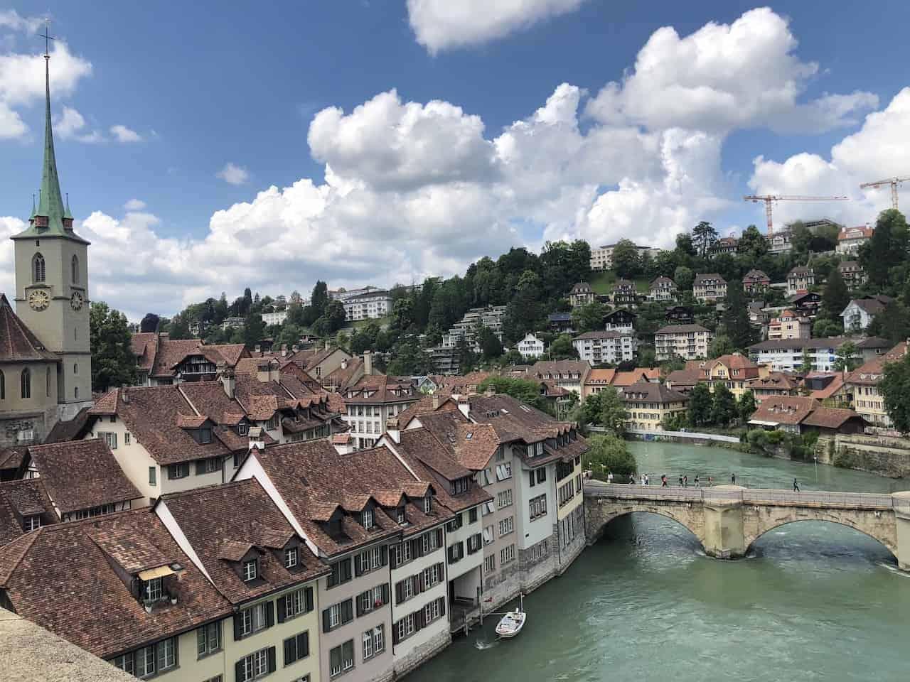 Aare River Bern