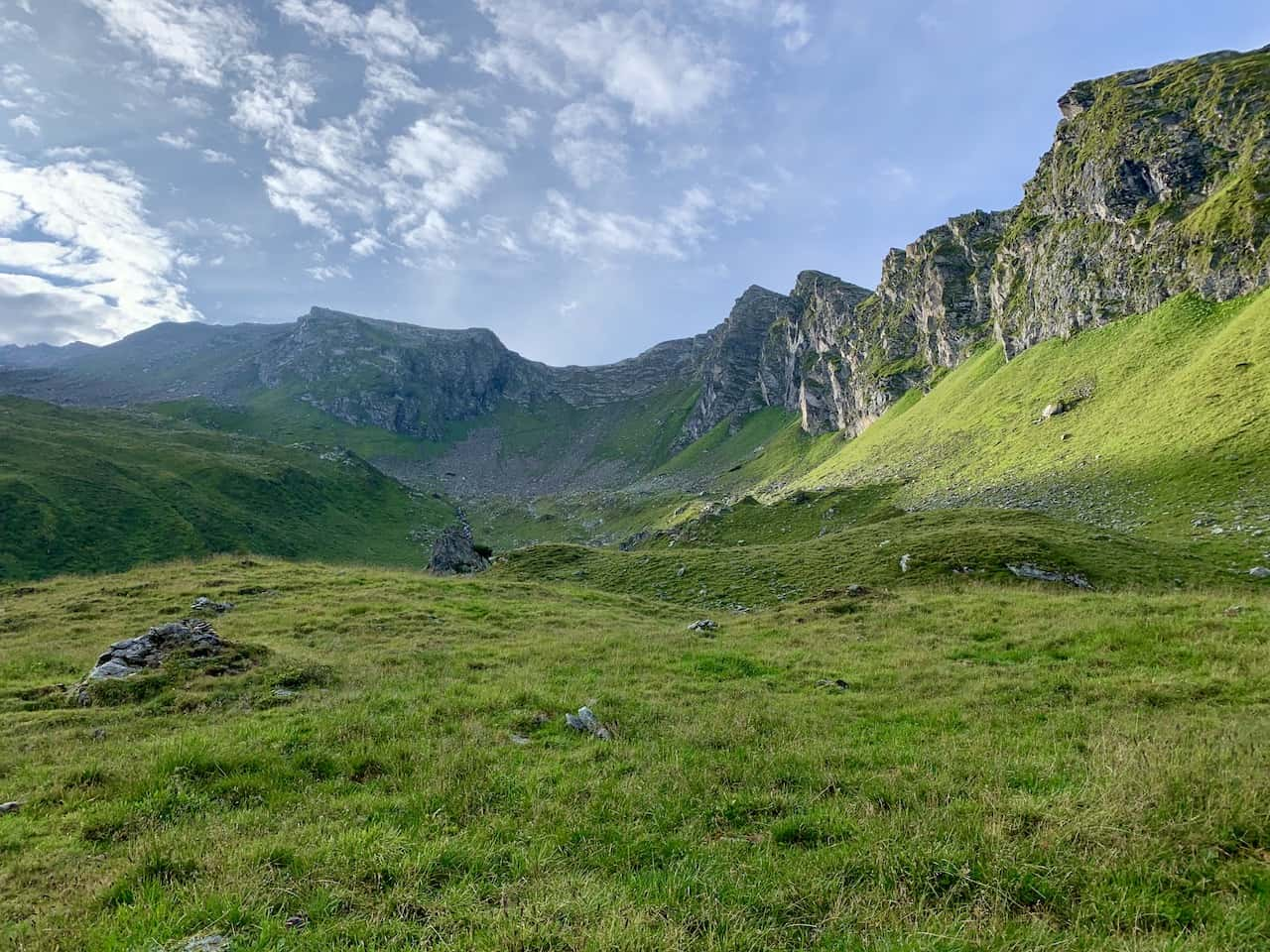 Ahorn Mountain Edelhutte Route