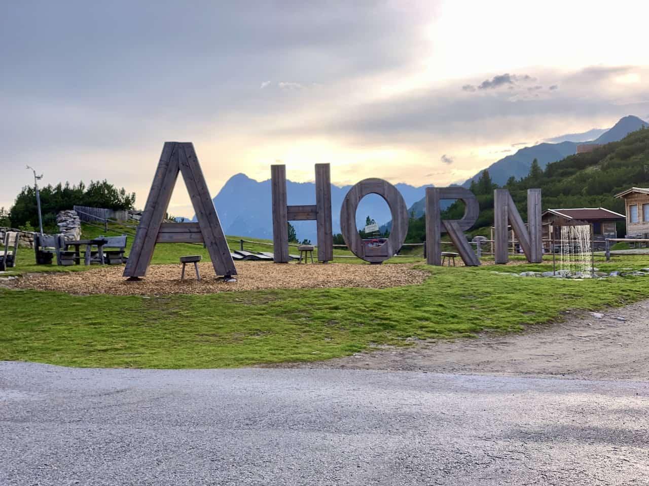 Ahorn Mountain