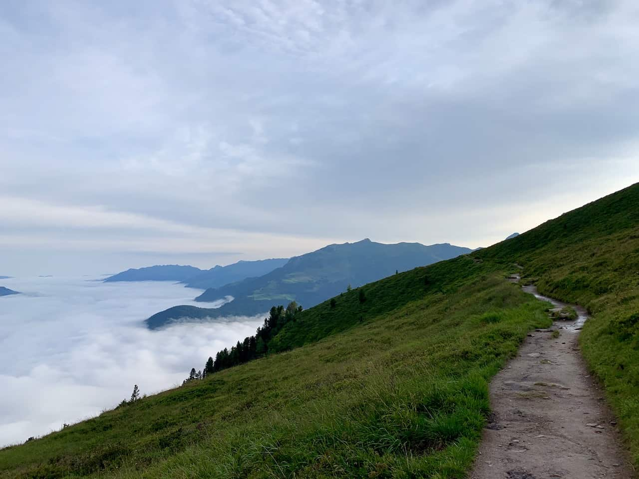 Ahornbahn to Edelhutte