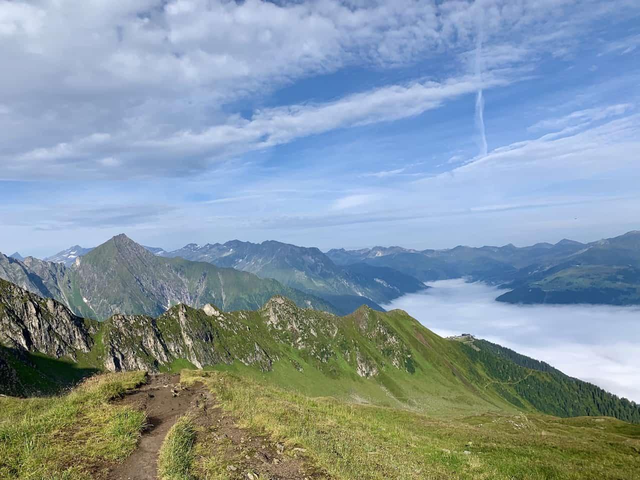 Ahornspitze Hike View