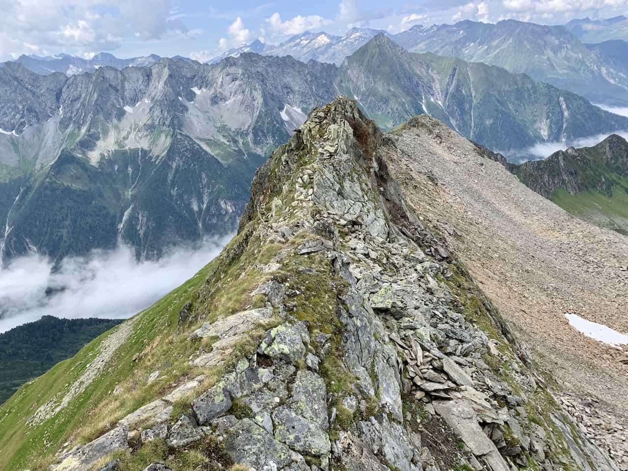 Ahornspitze Ridge