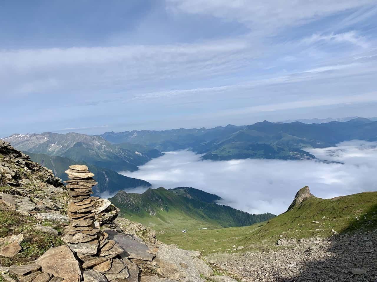 Ahornspitze Zillertal Hike