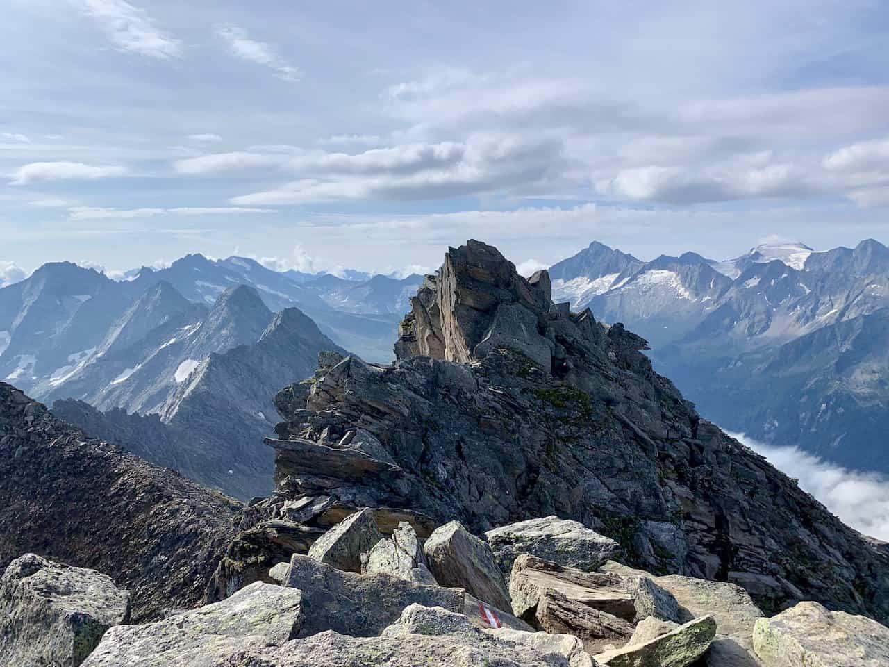 Ahornzpitze Summit