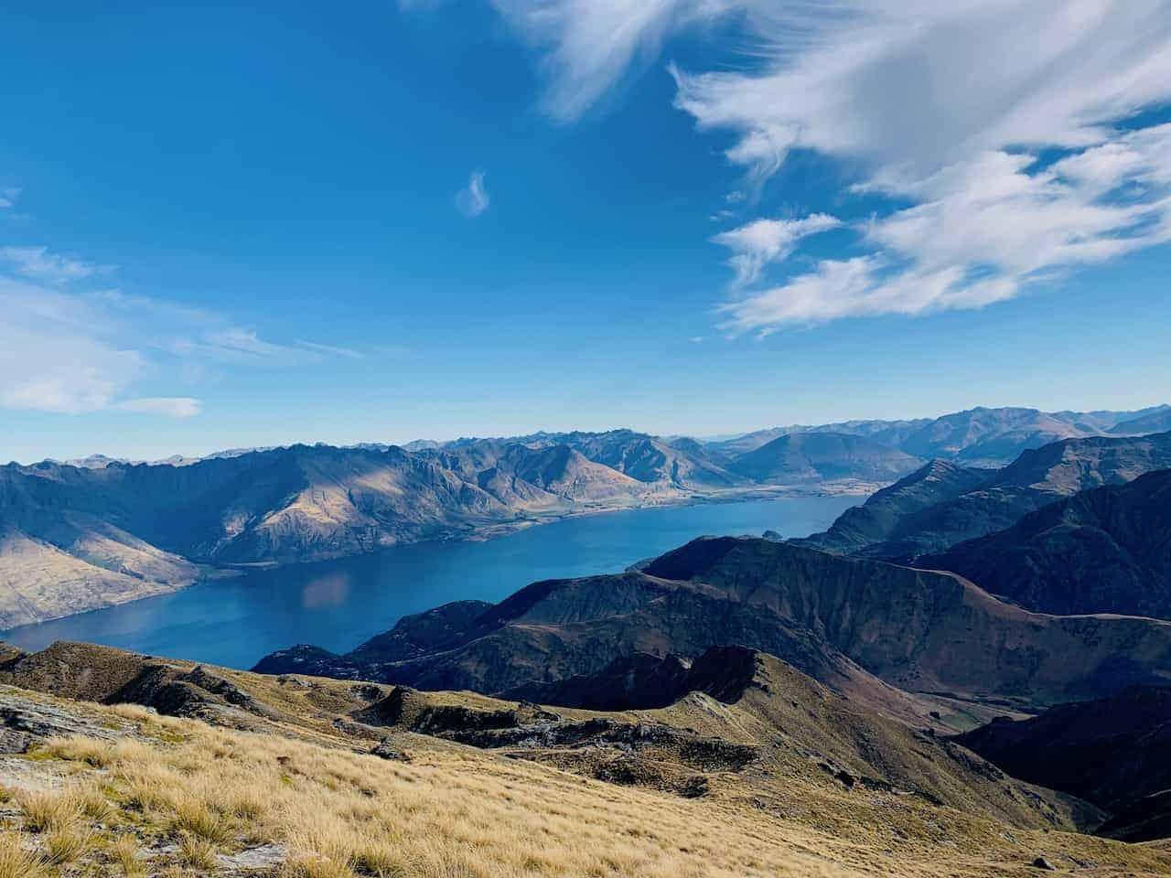 Ben Lomond Track Summit Lake Wakatipu