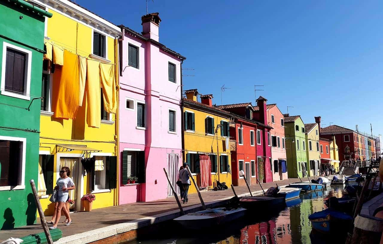 Burano Canals Venice