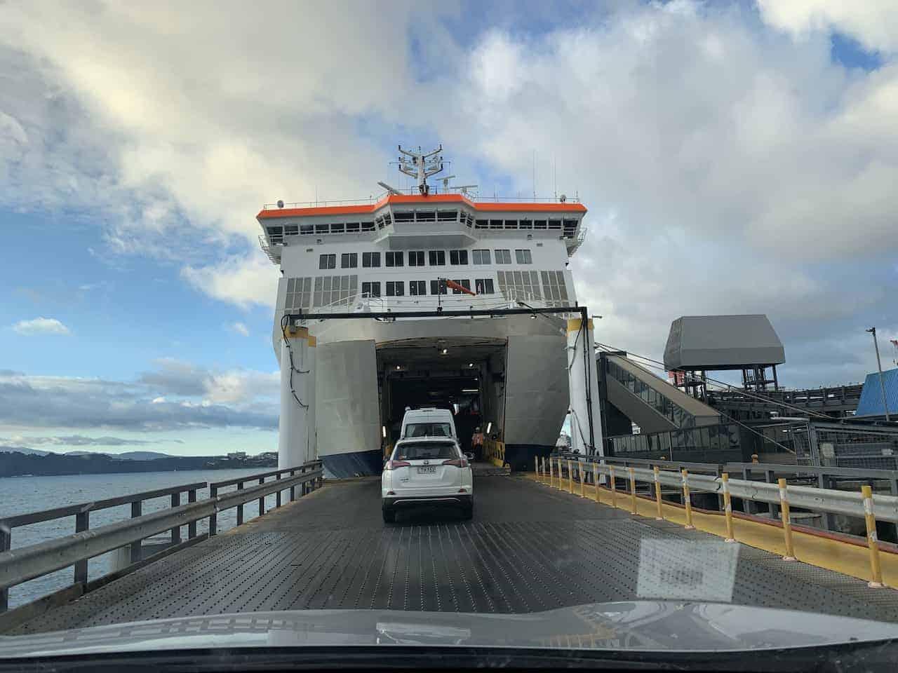 Car Ferry New Zealand