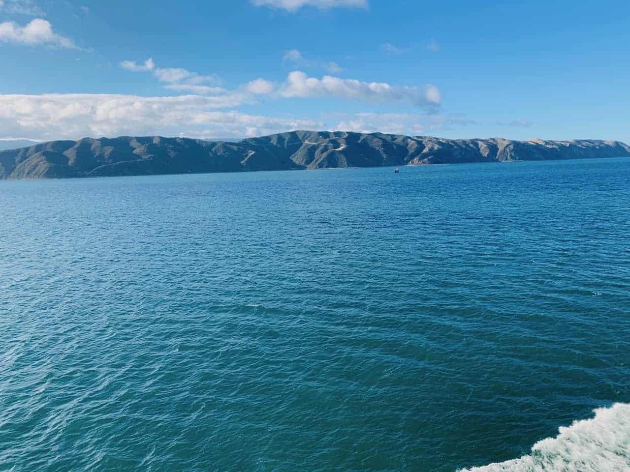 Cook Strait New Zealand