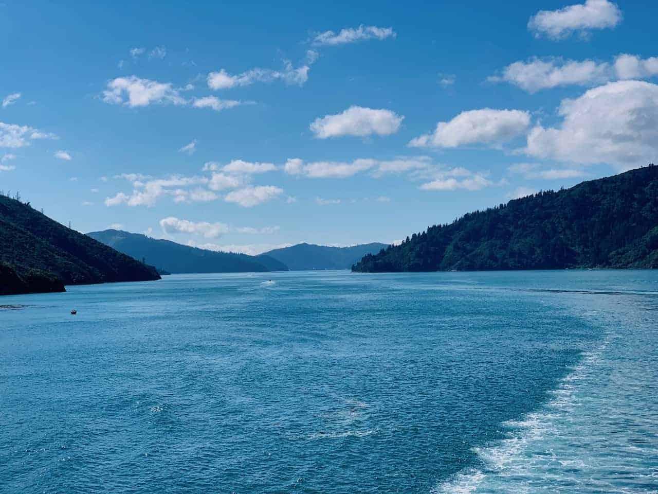 Cook Strait Picton Wellington