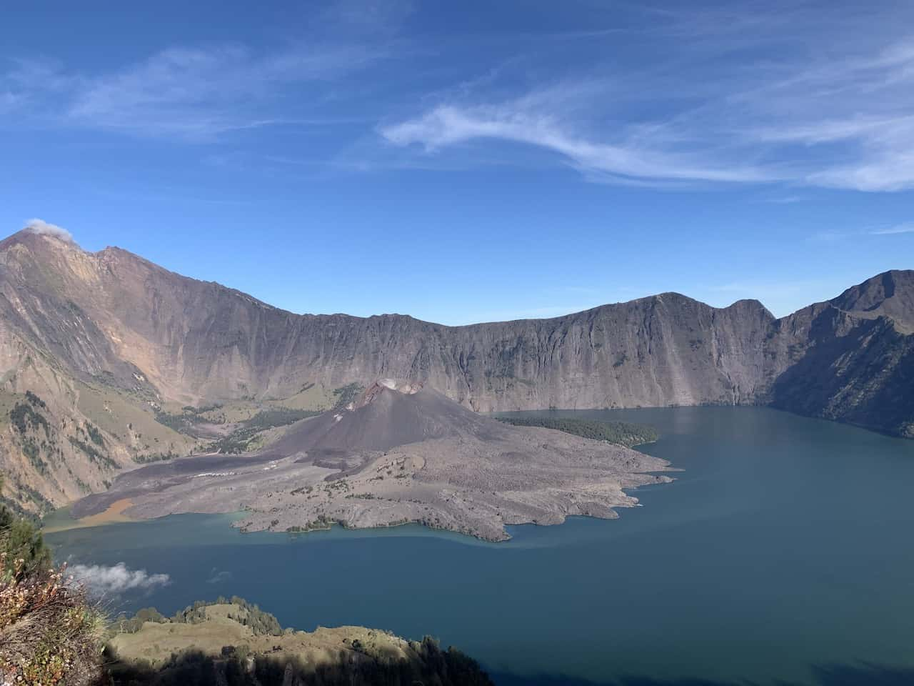 Crater Lake Rinjani