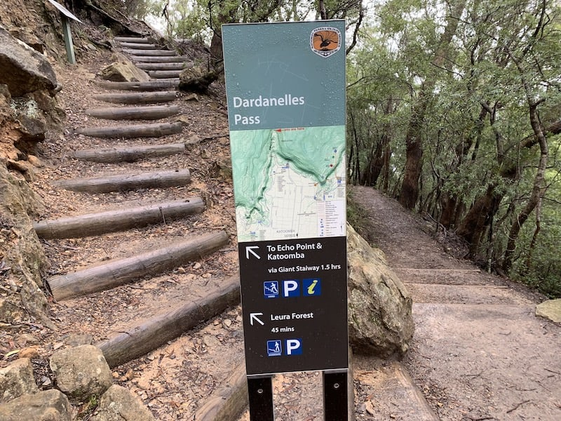 Dardanelles Path Sign