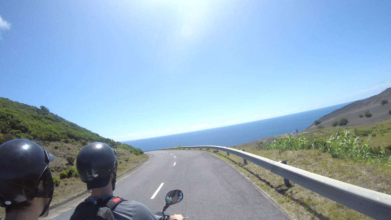 Faial Driving View
