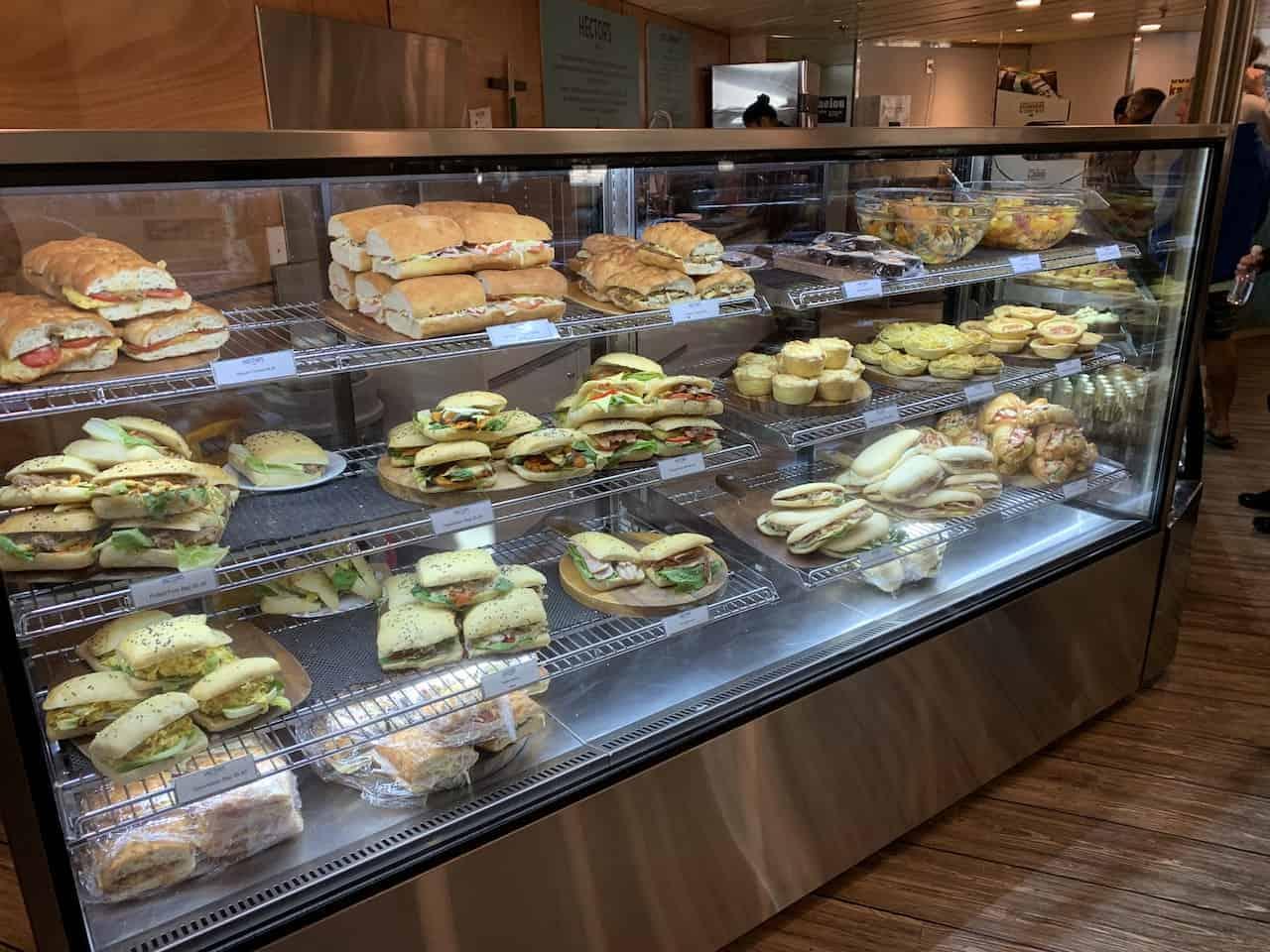 Food Interislander Ferry
