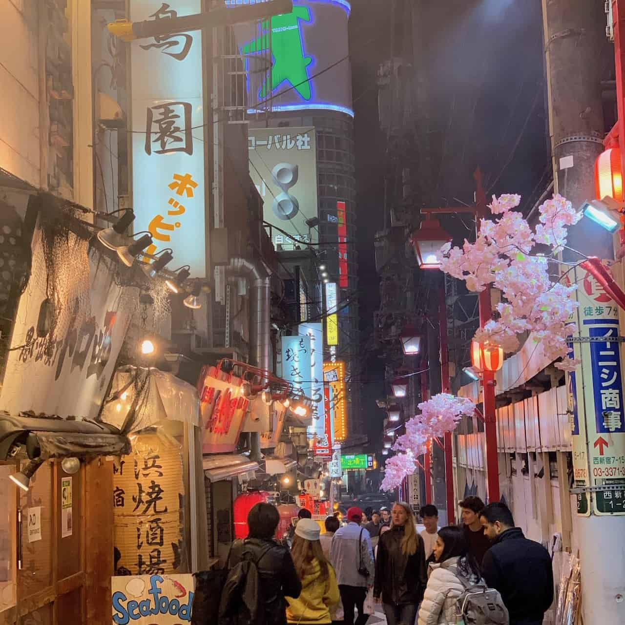Golden Gai Piss Alley