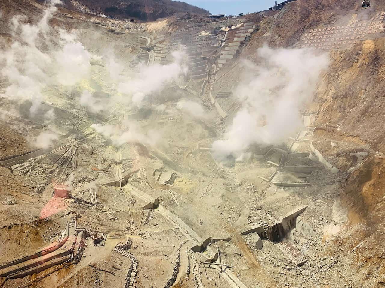Hakone Ropeway Geothermal
