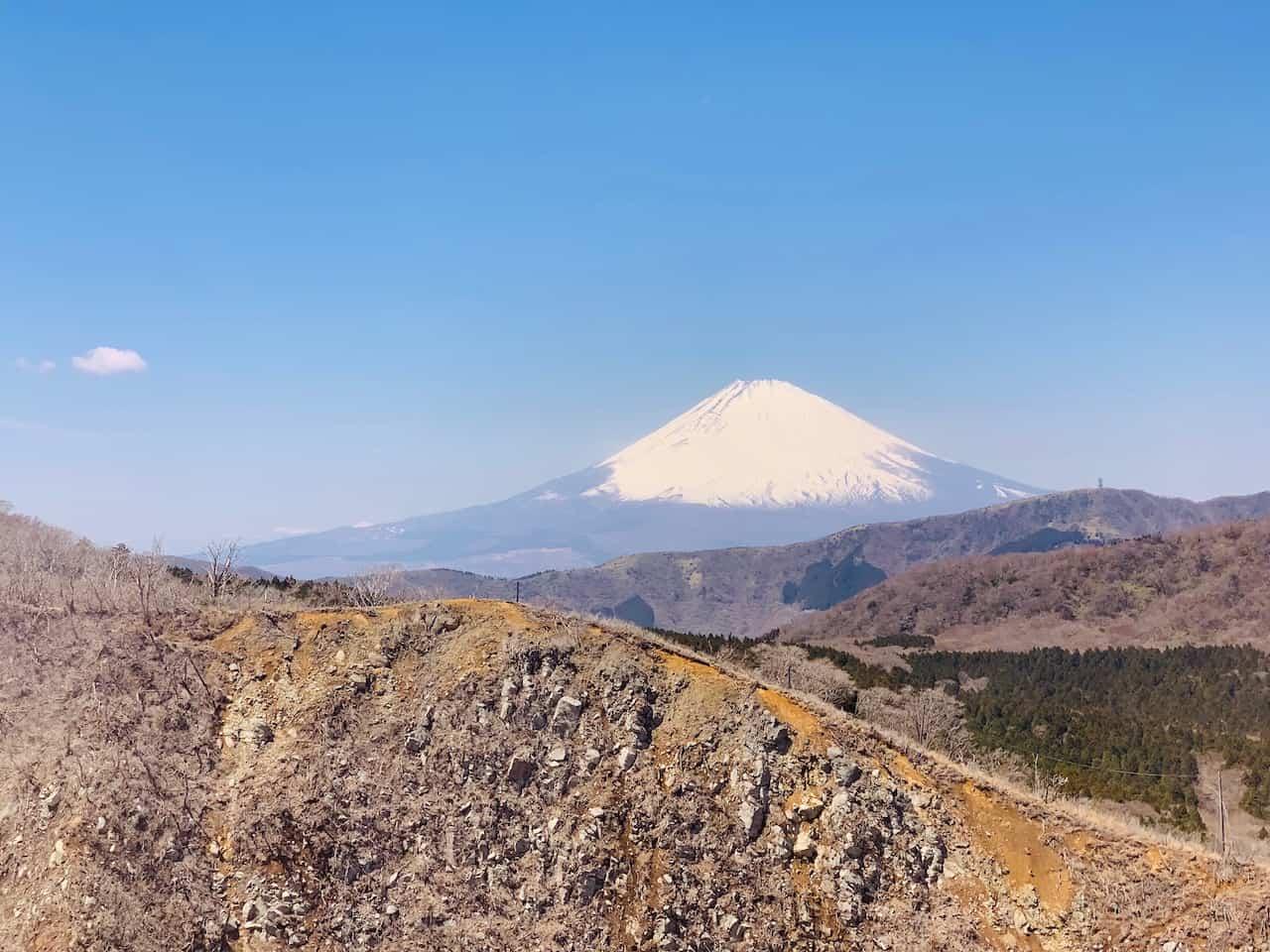 Hakone Ropeway Mount Fuji View