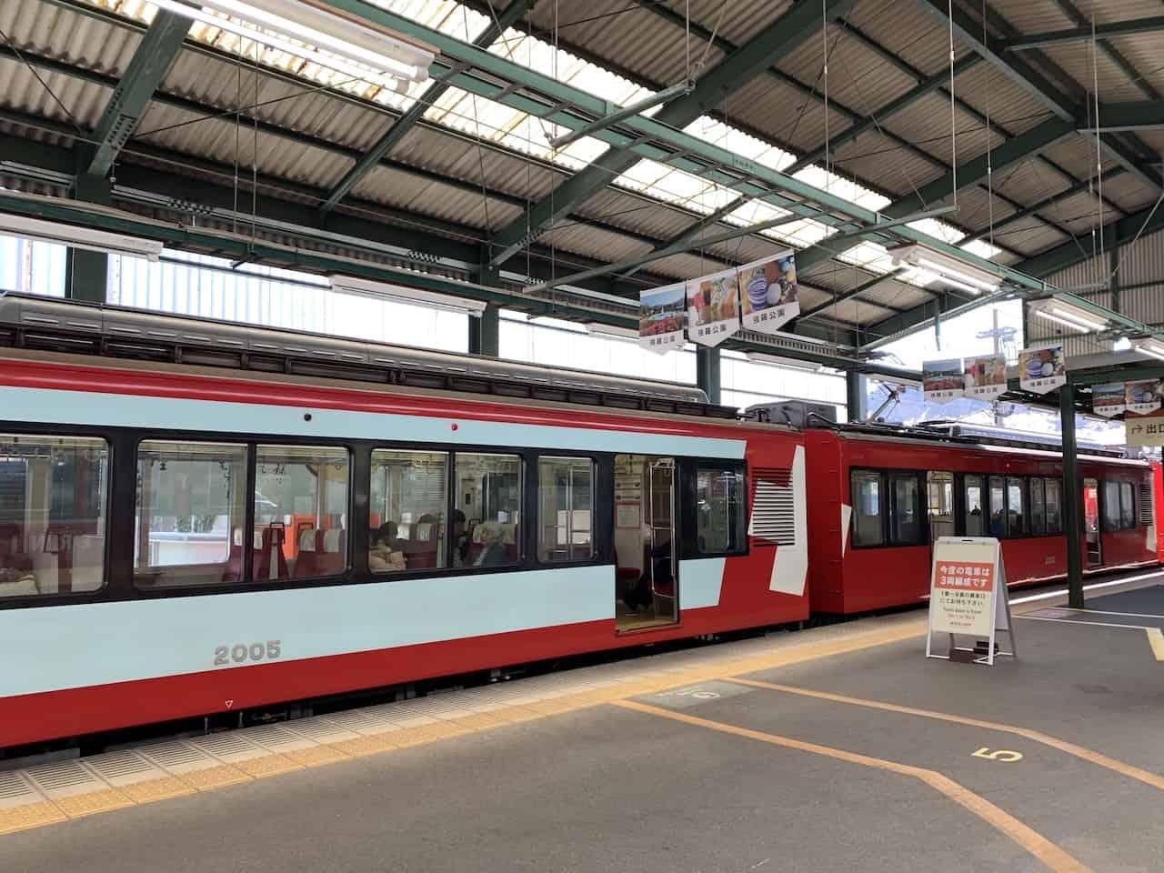 Hakone to Gora Train