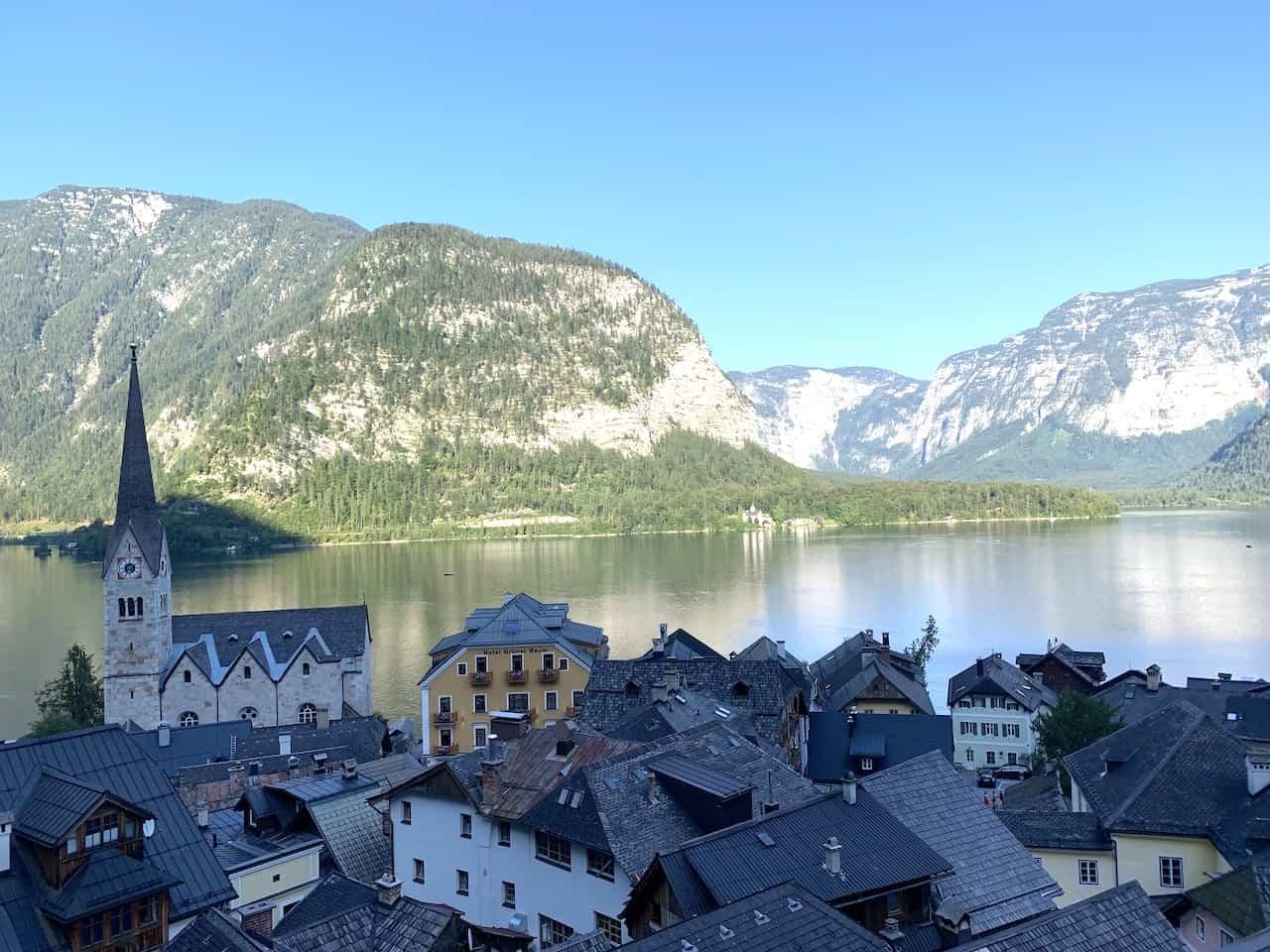 Hallstatt Village View