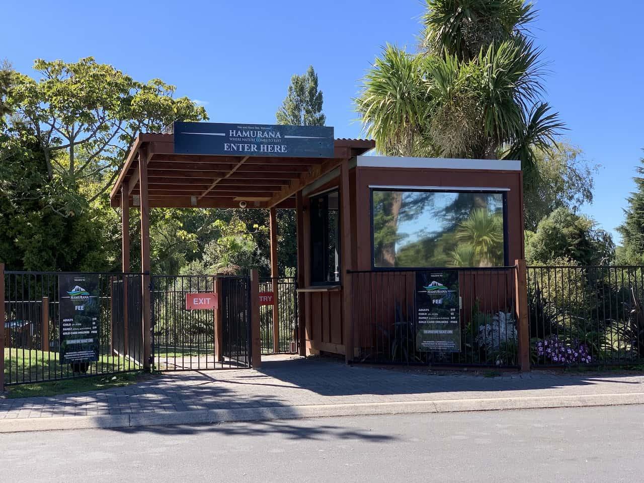 Hamurana Springs Entrance