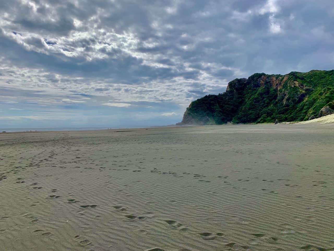 Karekare Beach Sand