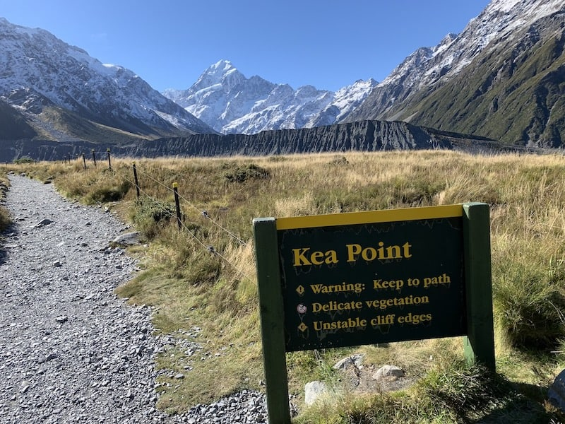 Kea Point Ending Point