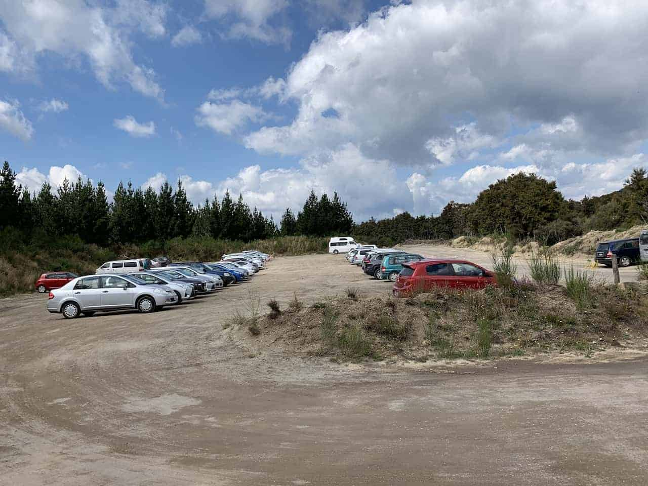 Ketetahi Parking Lot