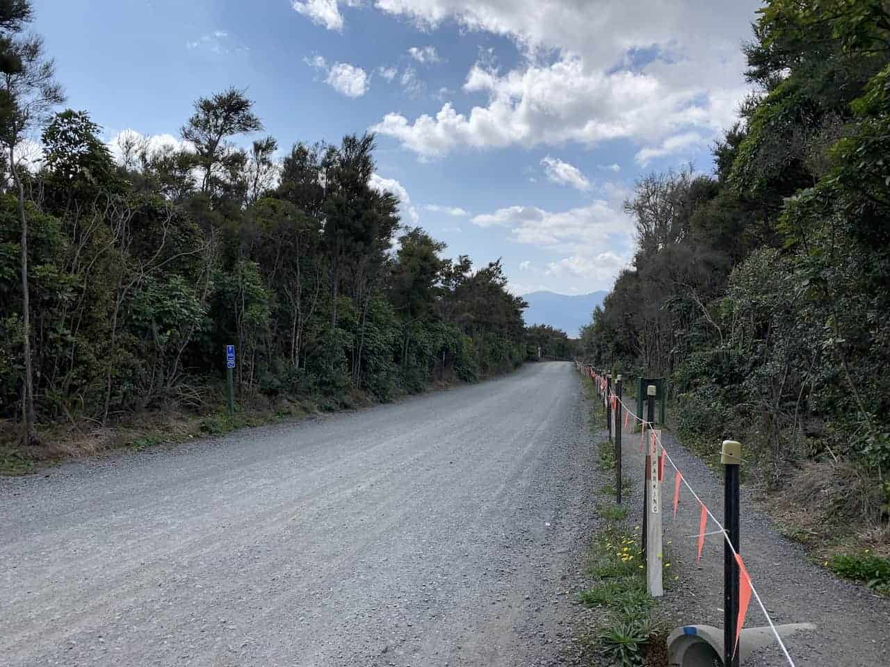 Ketetahi Road to Parking Lot