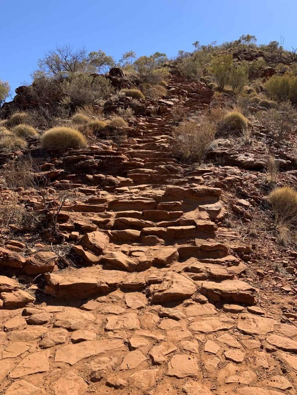 Kings Canyon Rim Walk Staircase