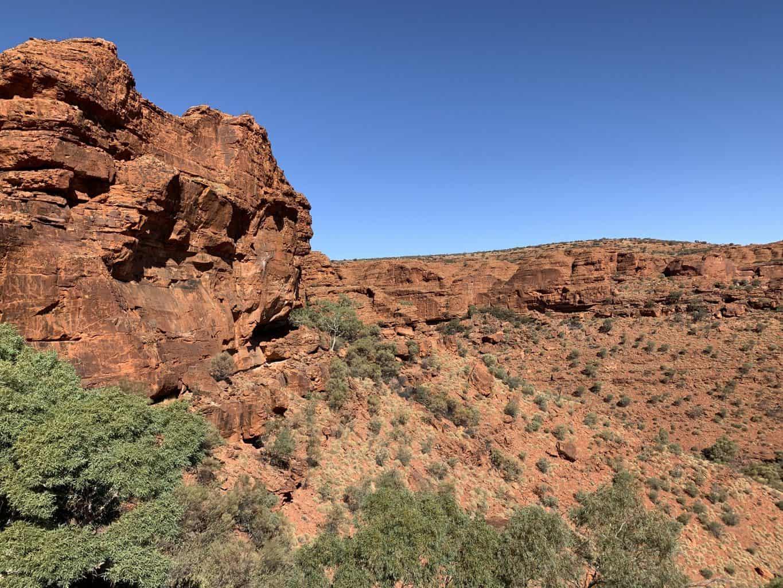 Kings Canyon Rim Walk Wall