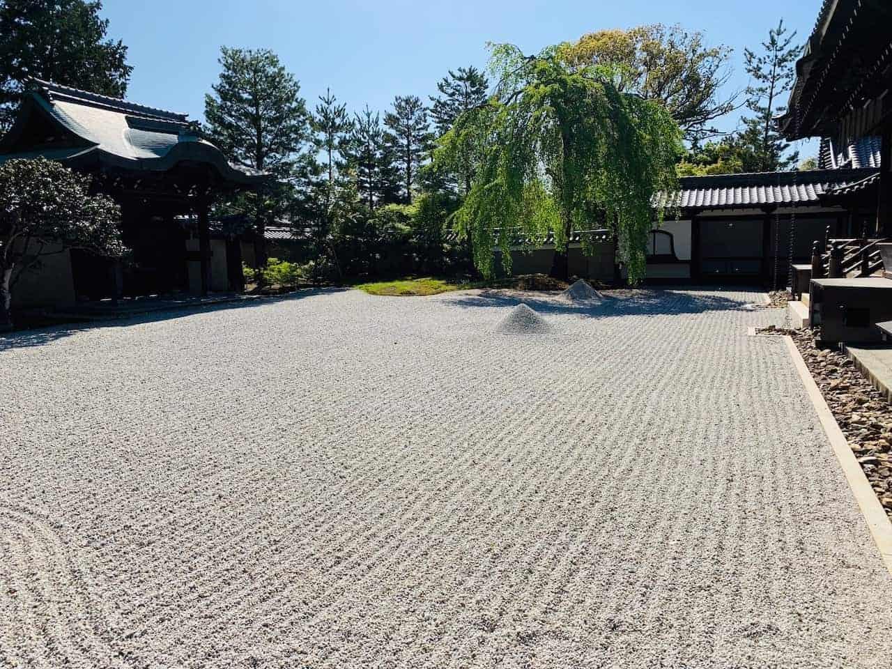 Kodai-ji Temple Sand Garden