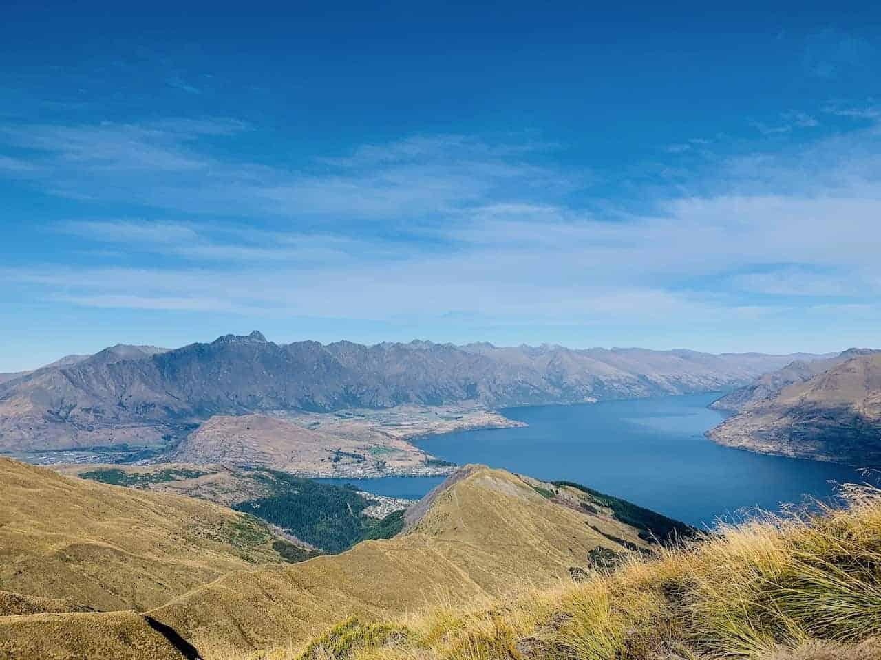 Lake Wakatipu Ben Lomond Track