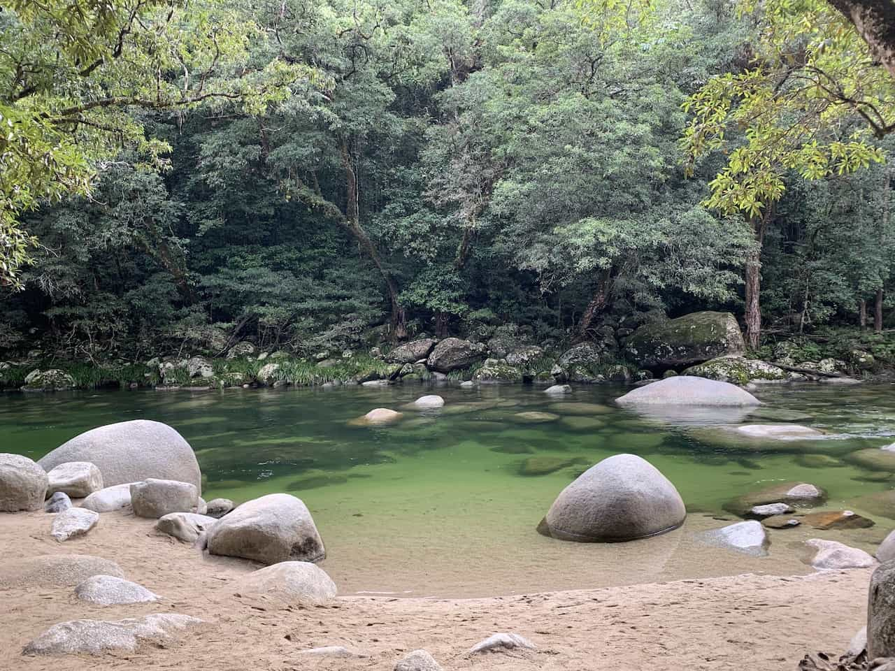 Mossman Gorge Swimming