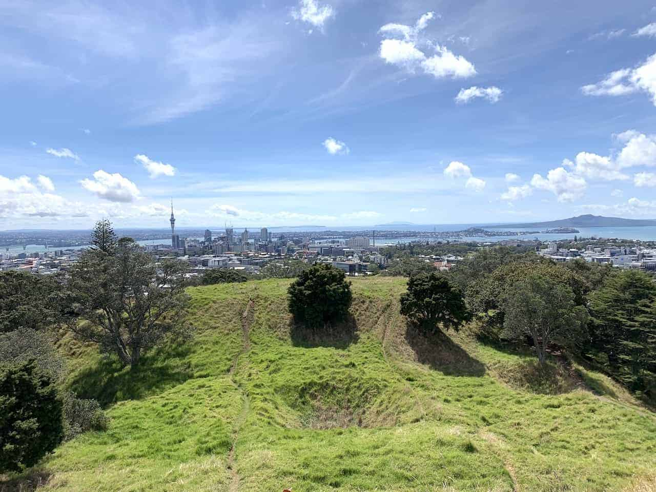 Mount Eden Greenery View