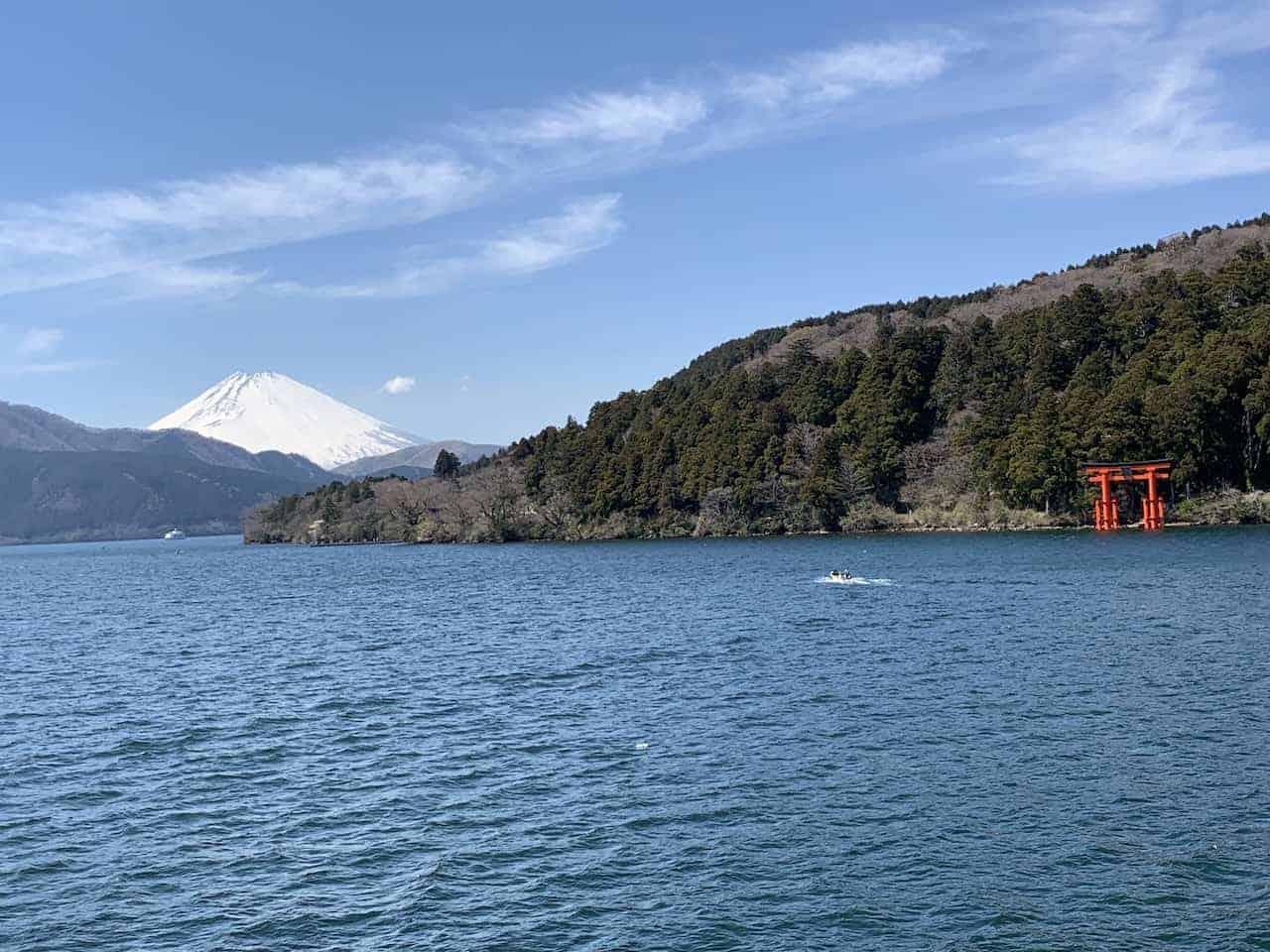 Mount Fuji Hakone Shrine View