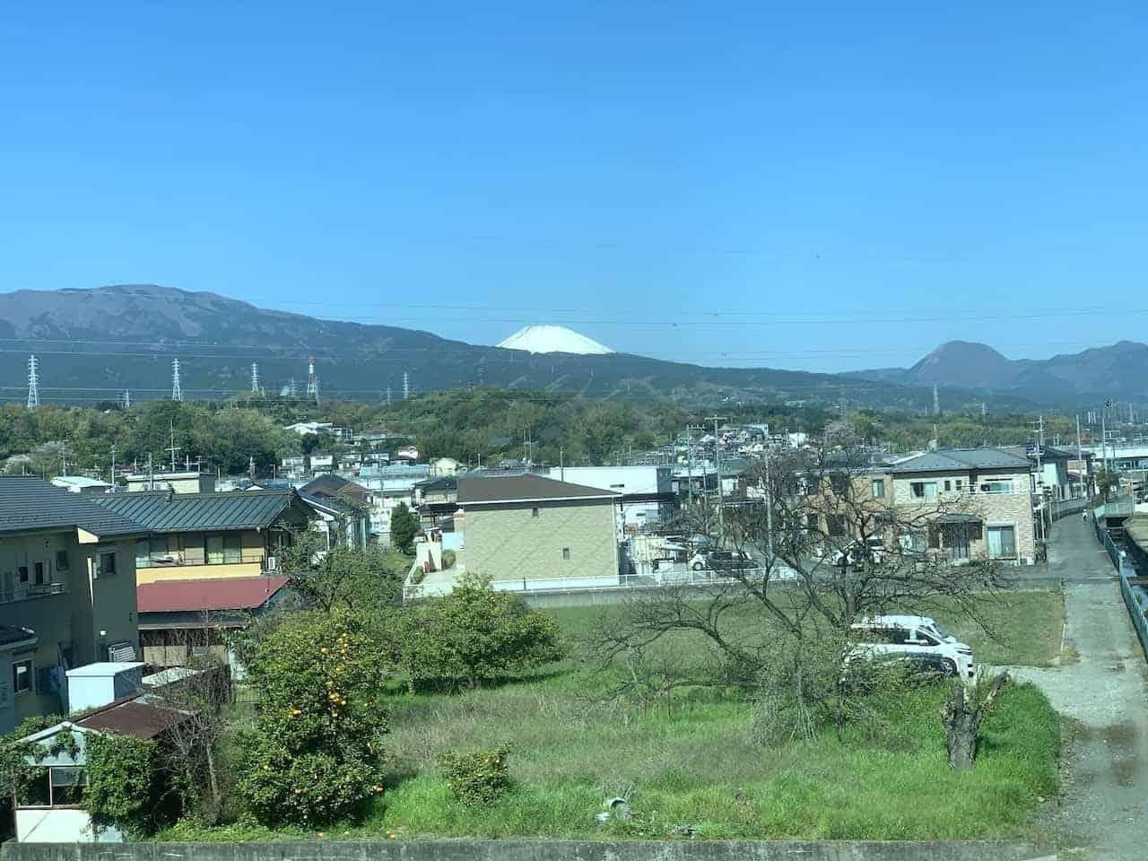 Mount Fuji View Train