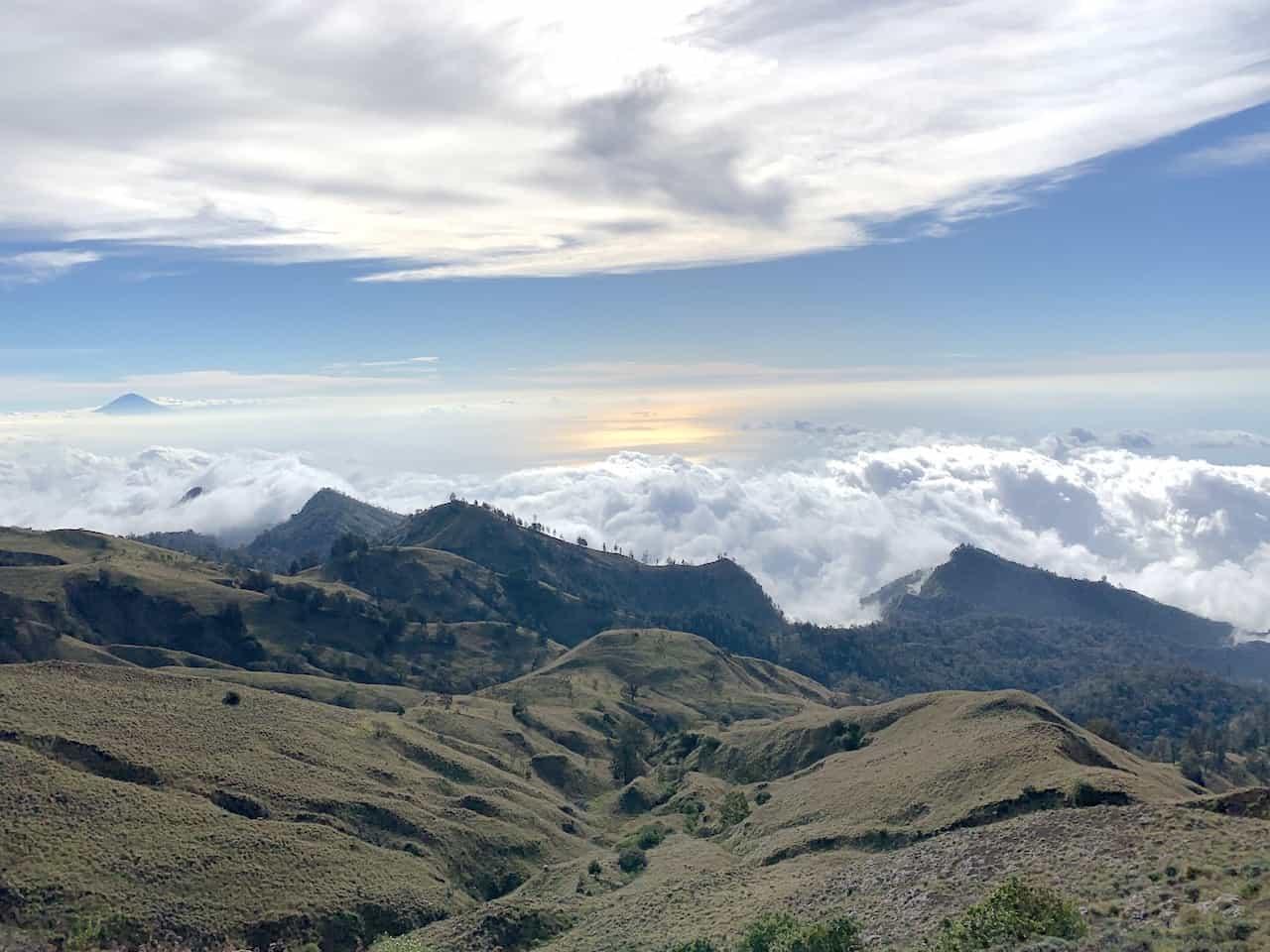 Mount Rinjani Senaru Crater
