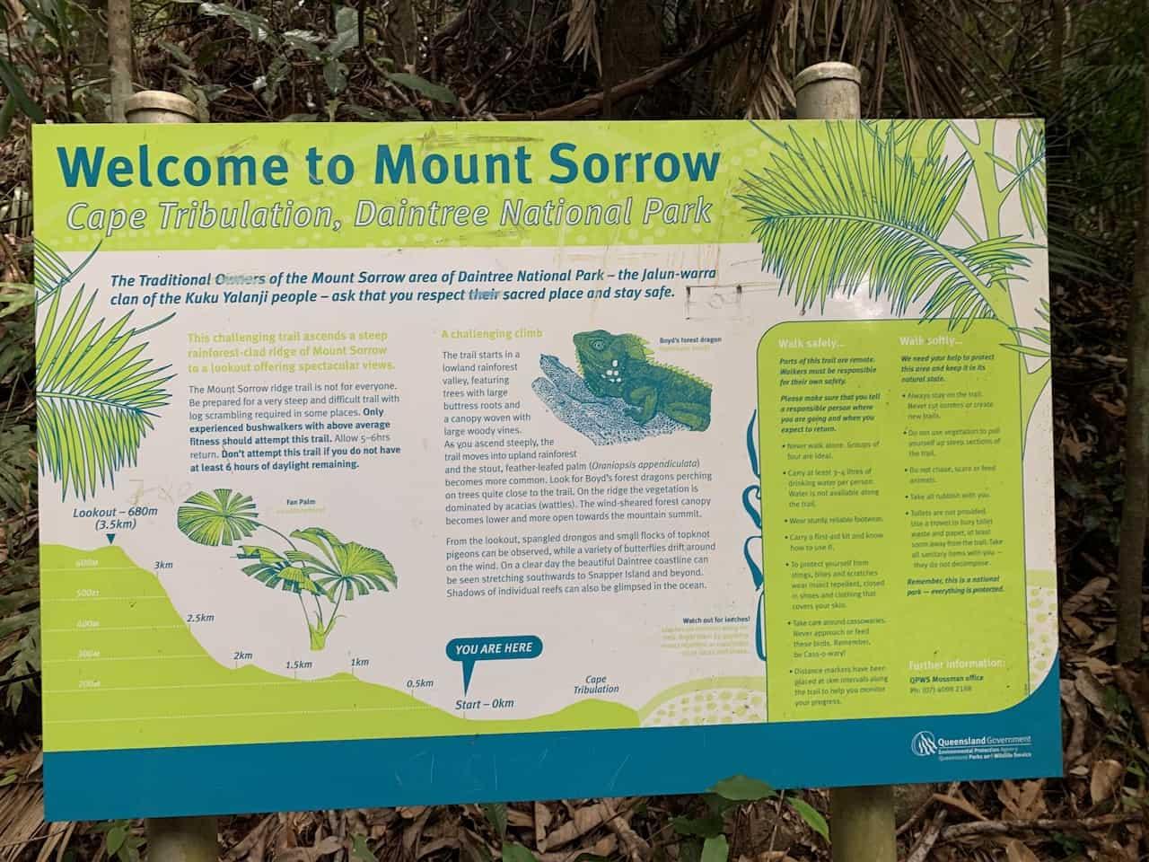 Mount Sorrow Daintree National Park