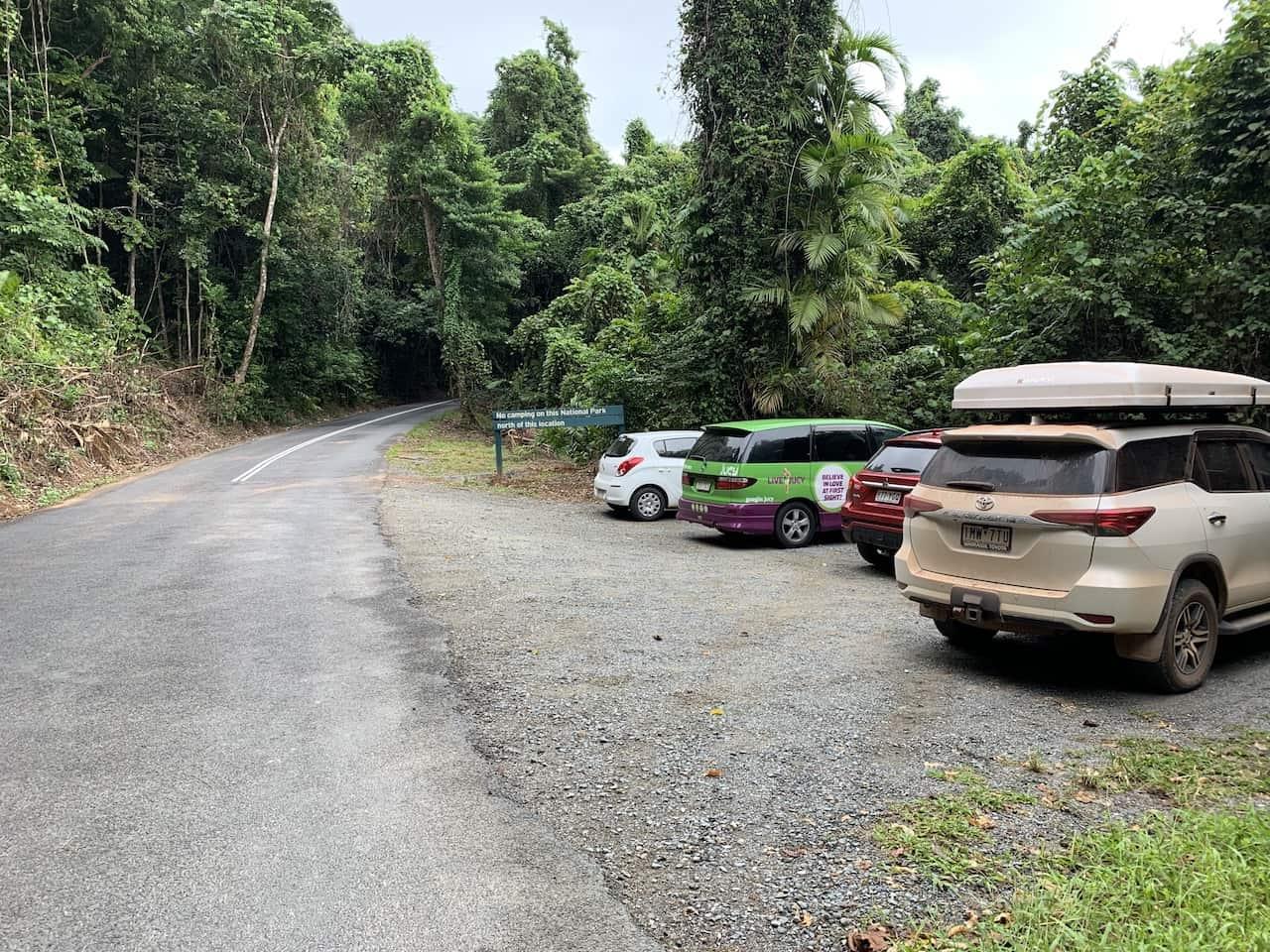 Mount Sorrow Parking