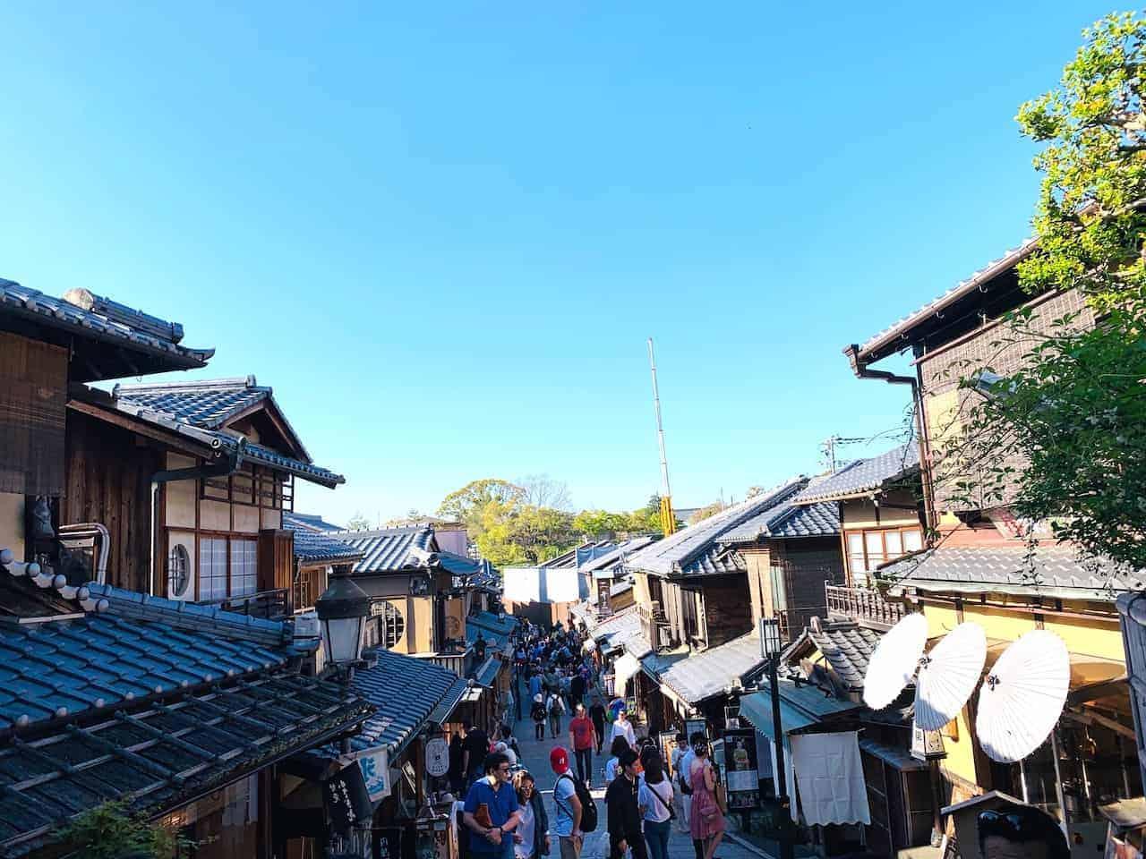 Ninenzakka Sannenzaka Kyoto