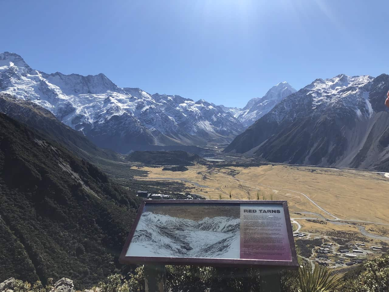 Red Tarns Mount Cook View