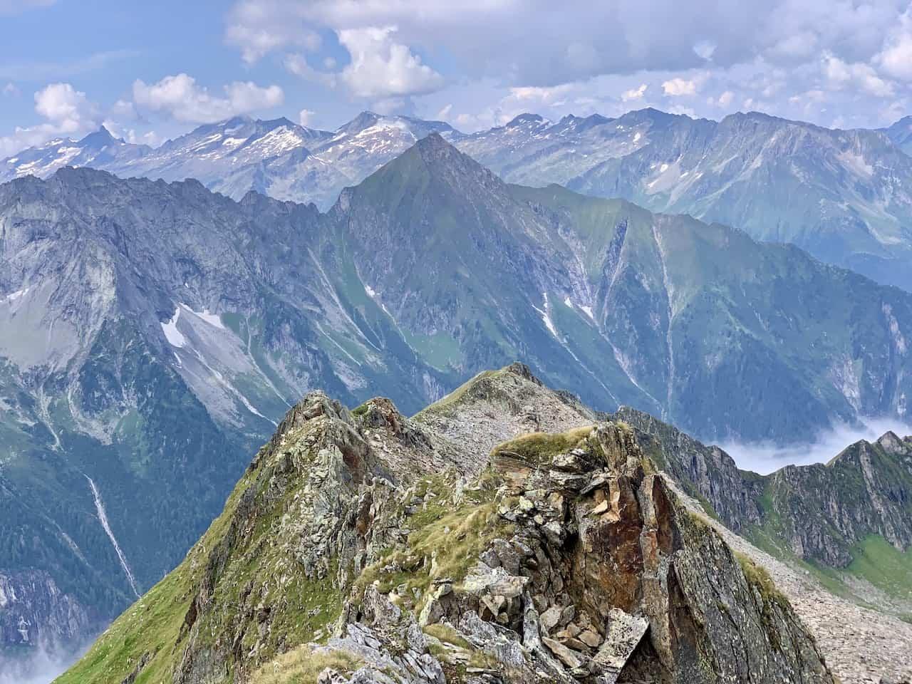 Ridge of Ahornspitze