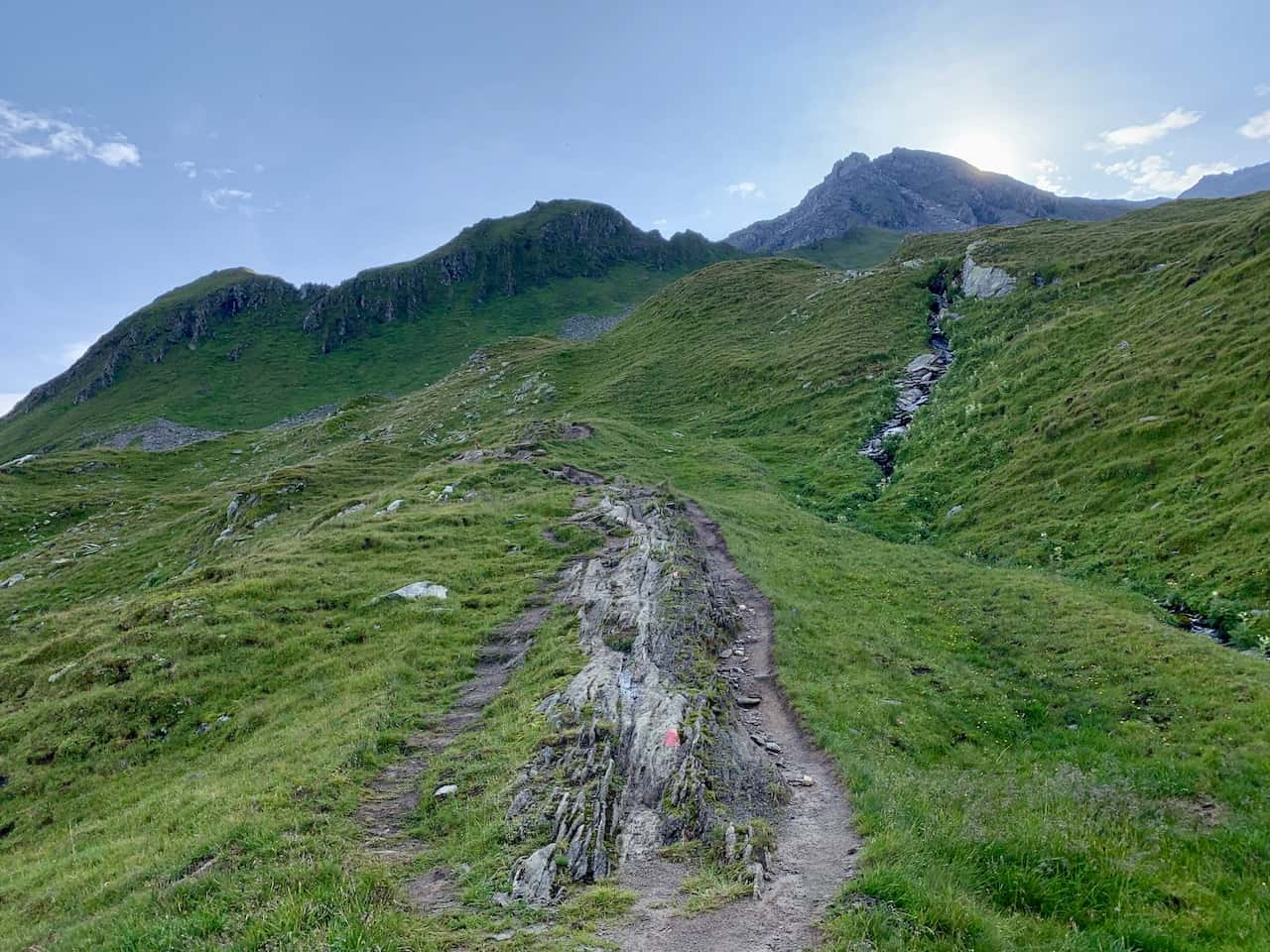 Route to Ahornspitze