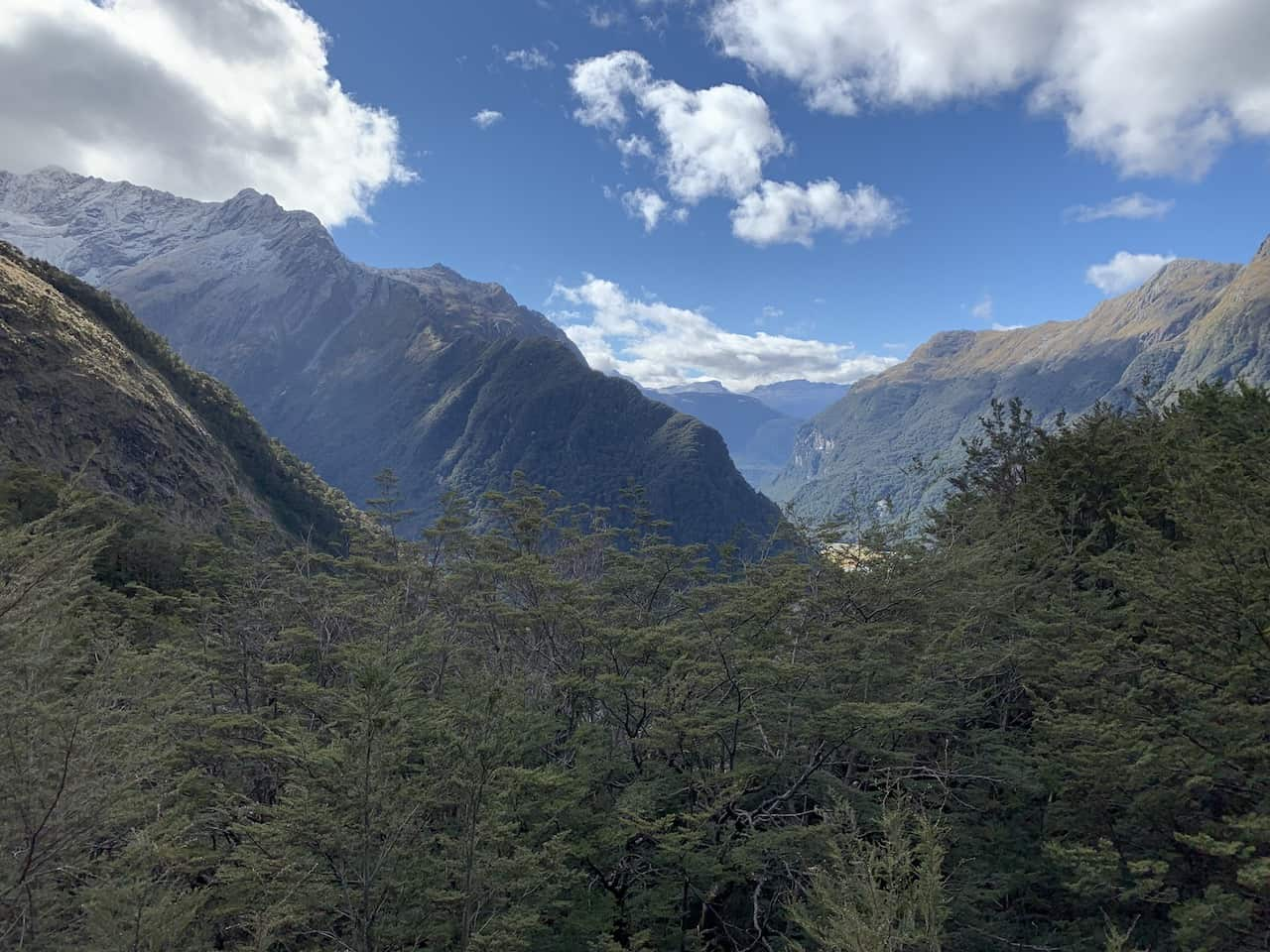 Routeburn Falls Hut View