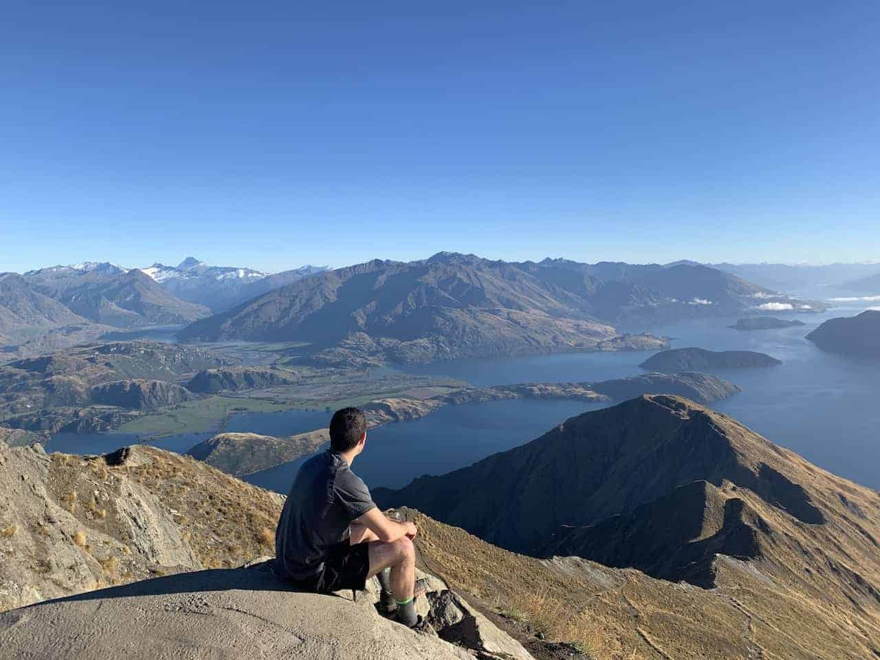 Roys Peak Track Summit