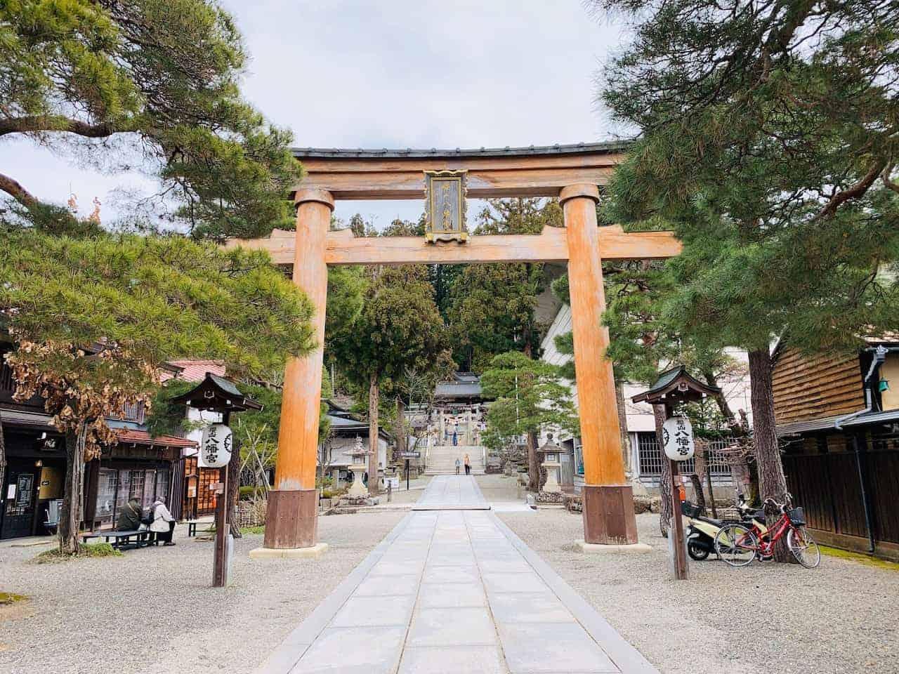 Sakurayama Hachimangu Shrine Gate