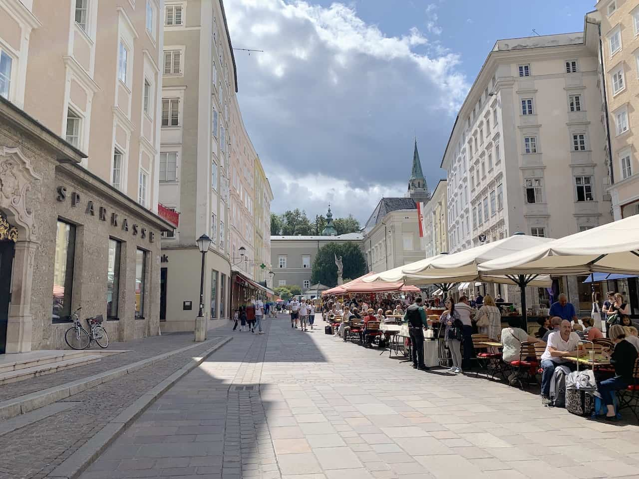 Salzburg Austria Streets