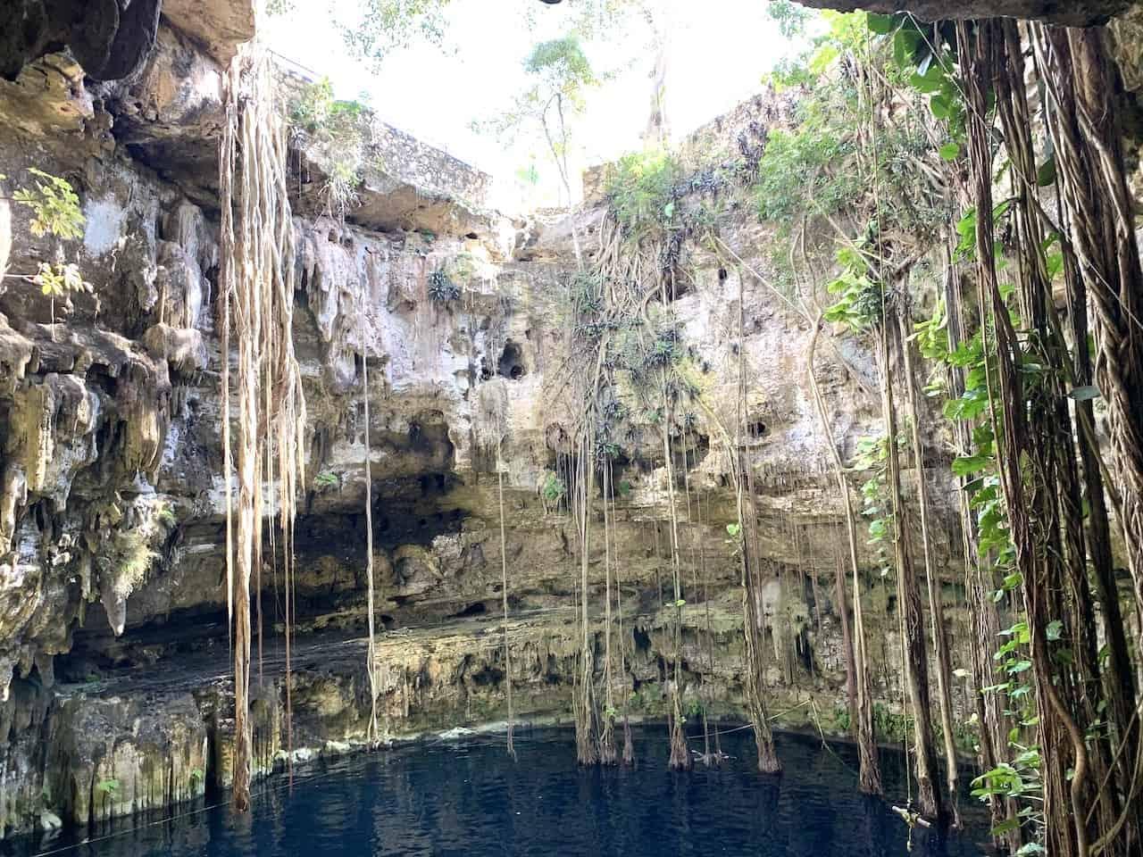 San Lorenzo Oxman Cenote Mexico