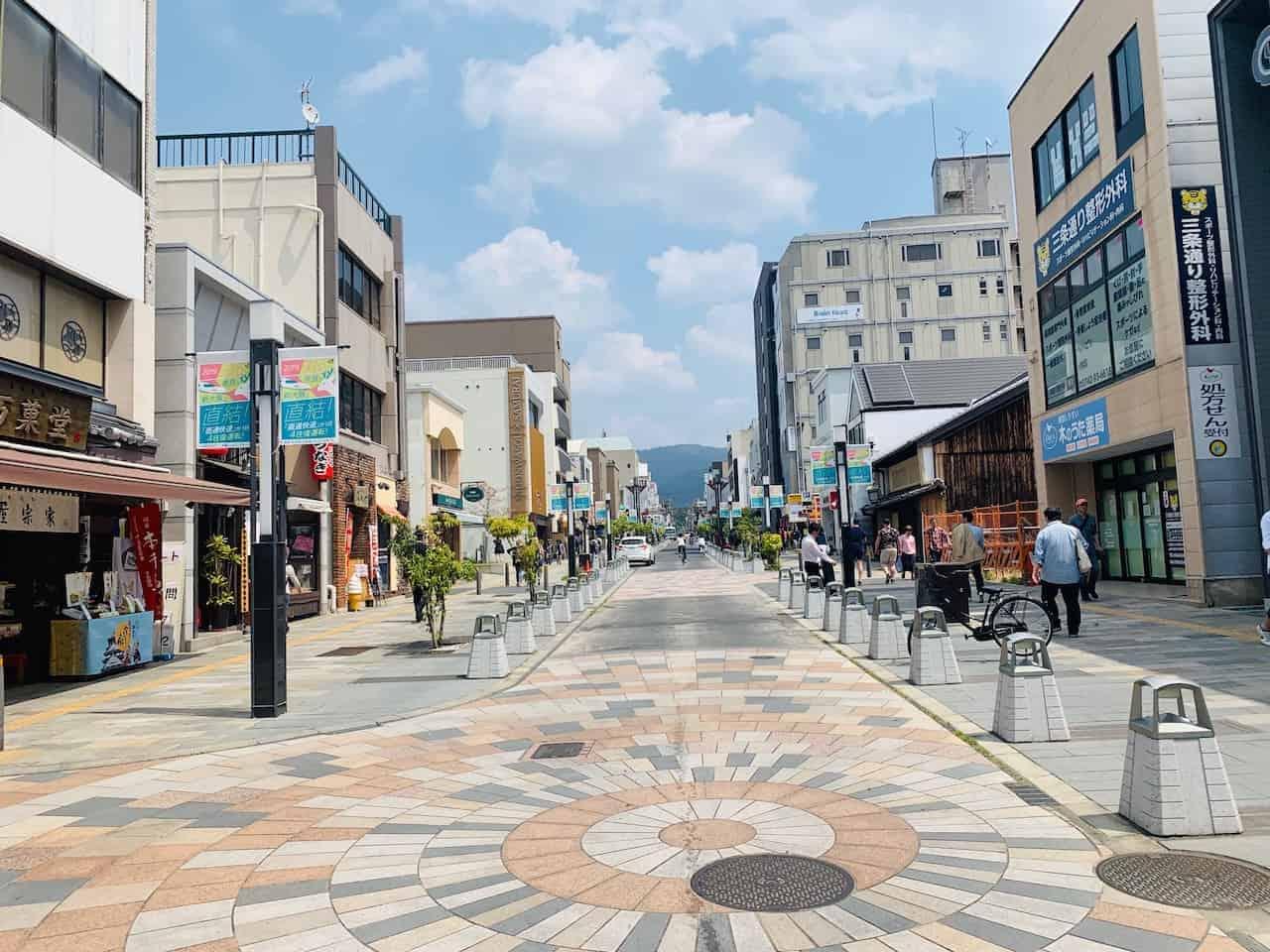 Sanjo-dori Street