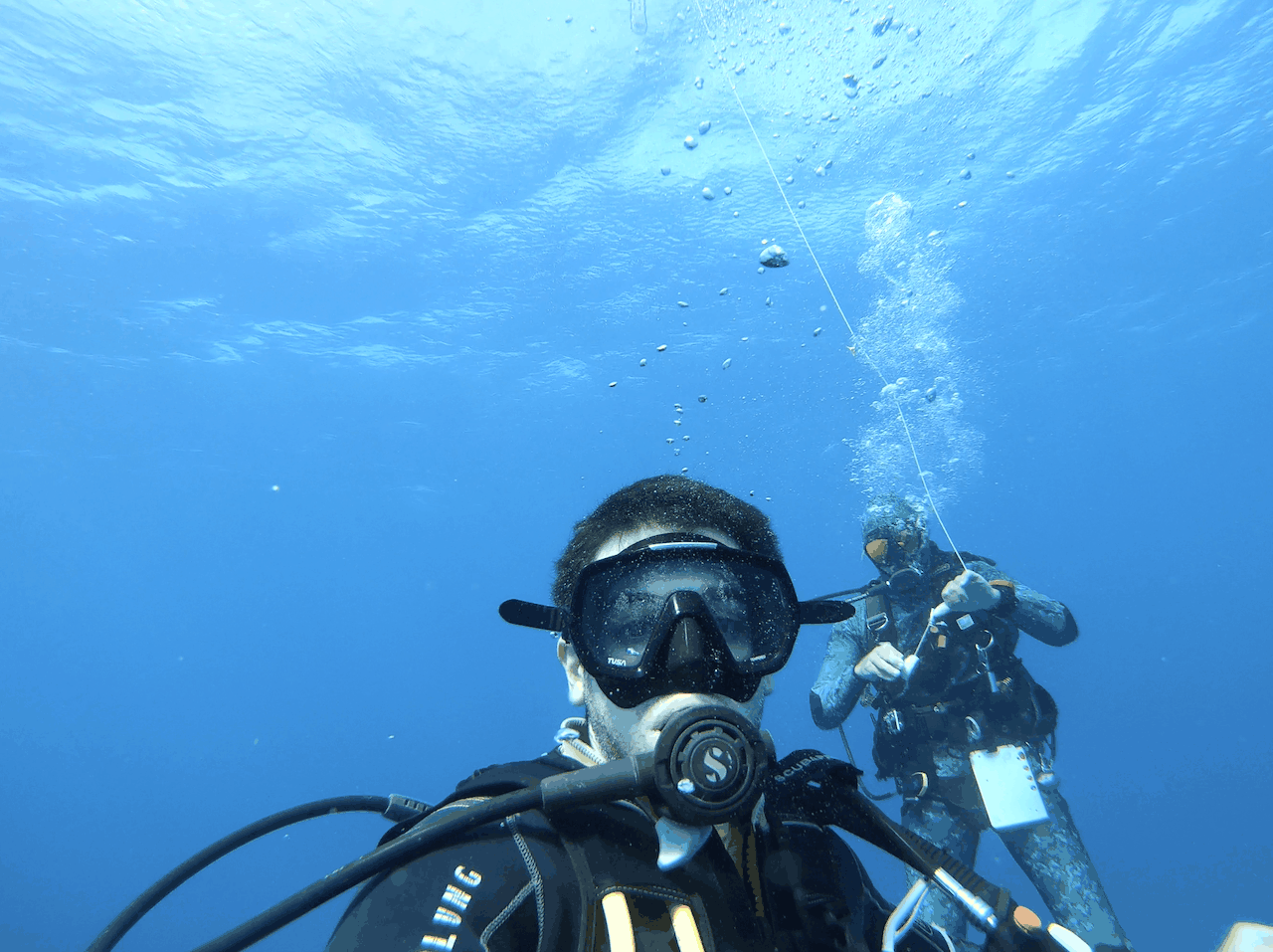 Scuba Diving Cancun Underwater