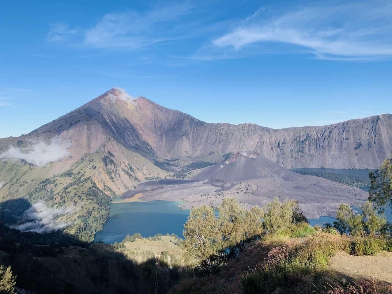 Senaru Crater Rim View